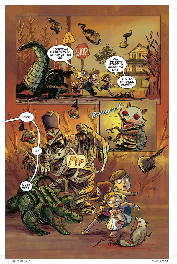 The Halloween Legion: The Great Goblin Invasion (Dark Horse Comics)