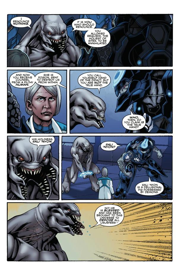 Halo Escalation 14 Profile Dark Horse Comics