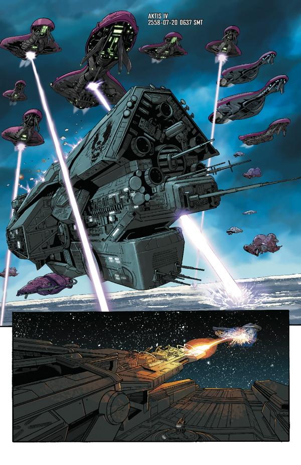 Infinity For Sale >> Halo: Escalation #15 :: Profile :: Dark Horse Comics
