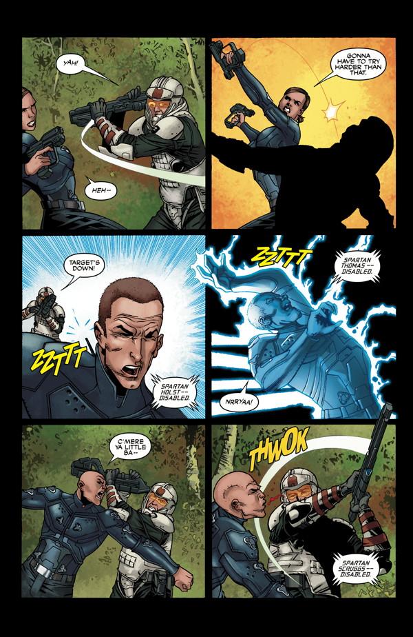 Halo Initiation 2 Profile Dark Horse Comics