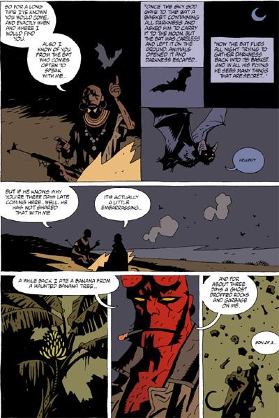 Hellboy Volume 6: Strange Places TPB