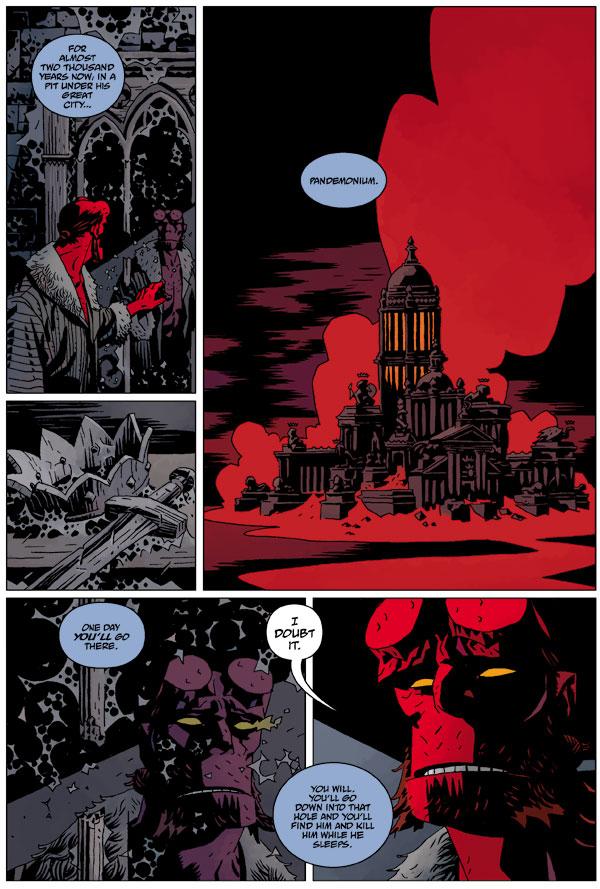 Hellboy The Wild Hunt 7 Profile Dark Horse Comics