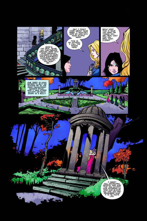 House Of Night 4 Profile Dark Horse Comics