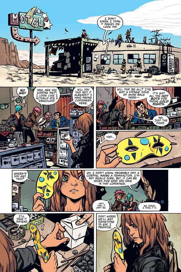 the true lives of the fabulous killjoys comic pdf