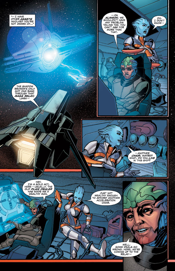 Mass effect liara and jack sealing the deal - 1 1