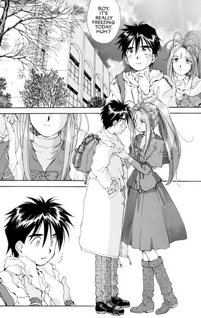 Younger guy dating older girl manga