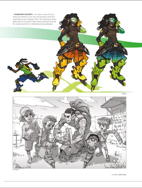 Concept Art Book Overwatch