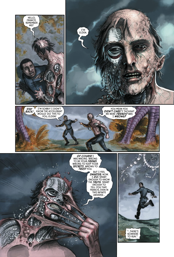 Prometheus Fire And Stone 3 Profile Dark Horse Comics