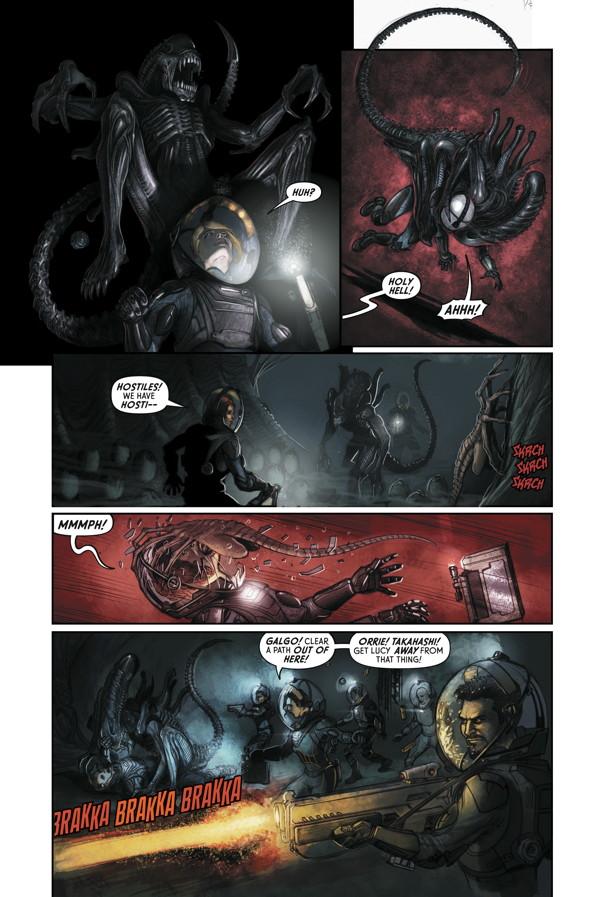 prometheus fire and stone 2 profile dark horse comics