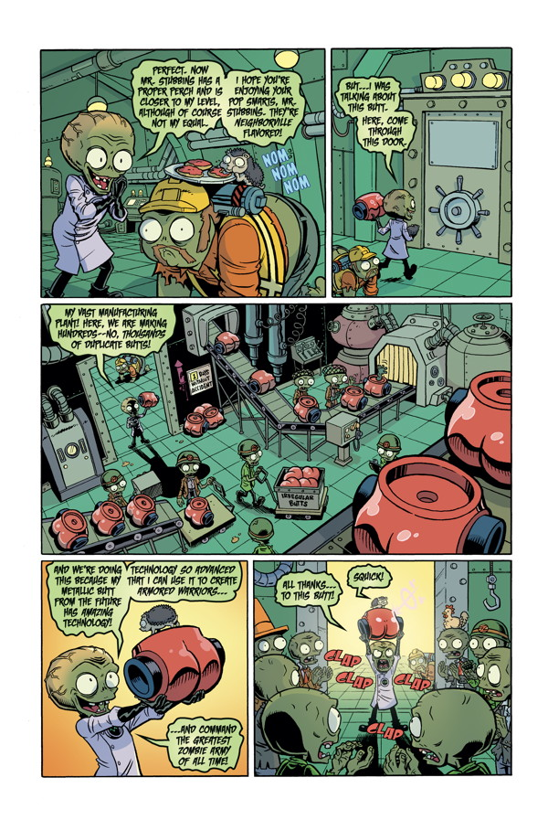 Plants vs. Zombies: Garden Warfare #1 :: Profile :: Dark Horse Comics