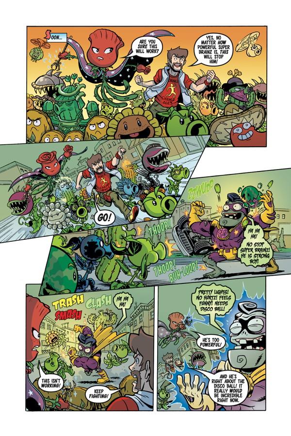 Plants vs. Zombies: Garden Warfare #3 :: Profile :: Dark Horse Comics