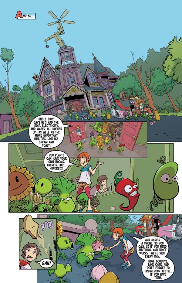 Plants Vs Zombies Volume 4 Grown Sweet Home Hc