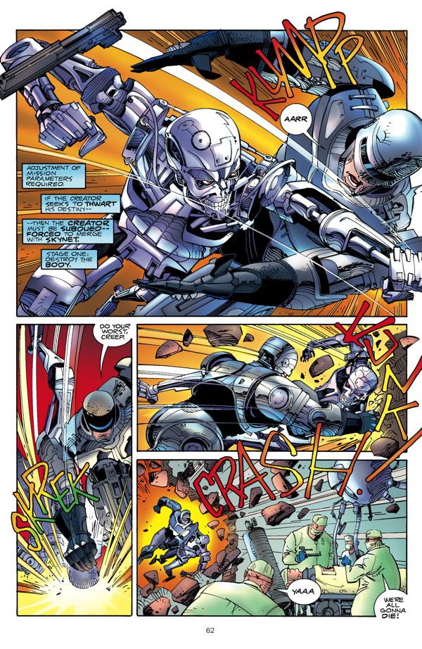 Robocop Vs The Terminator Hc Profile Dark Horse Comics