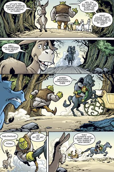 Shrek Tpb Profile Dark Horse Comics
