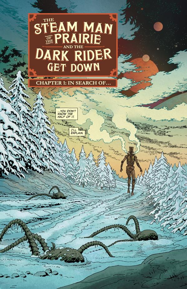 The Steam Man   TPB NEW Dark Horse 2016  ~Joe Lansdale Mark Alan Miller~