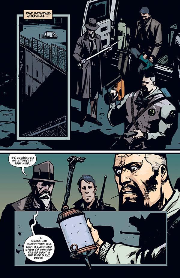 The Strain #11 :: Profile :: Dark Horse Comics