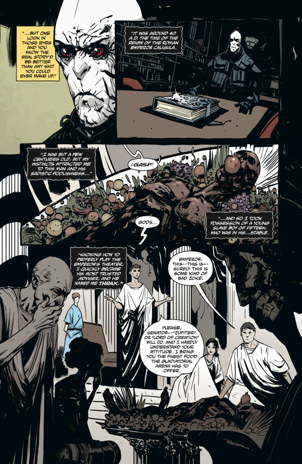 The Strain: The Night Eternal #4 :: Profile :: Dark Horse ...
