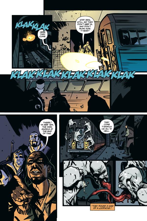 The Strain: The Fall #3 :: Profile :: Dark Horse Comics