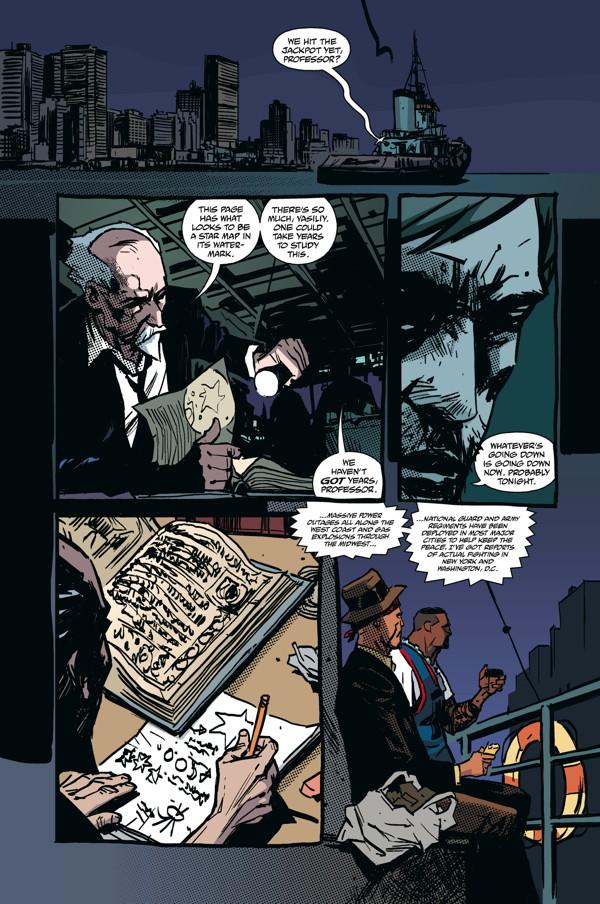 The Strain: The Fall #8 :: Profile :: Dark Horse Comics