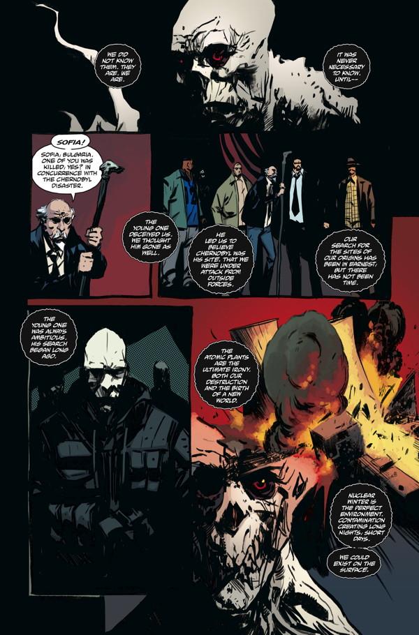 The Strain: The Fall #9 :: Profile :: Dark Horse Comics