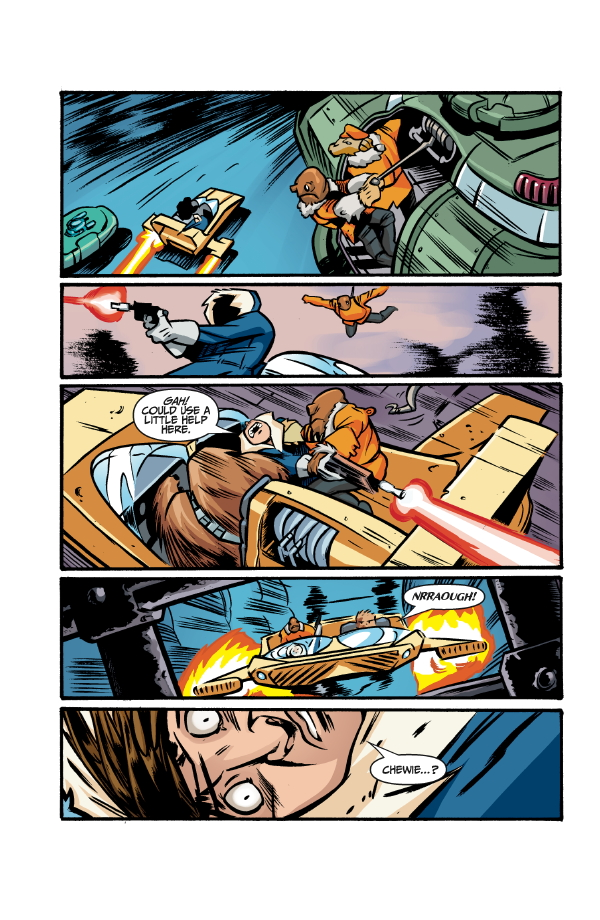 Star Wars Adventures Volume 1: Han Solo and the Hollow Moon