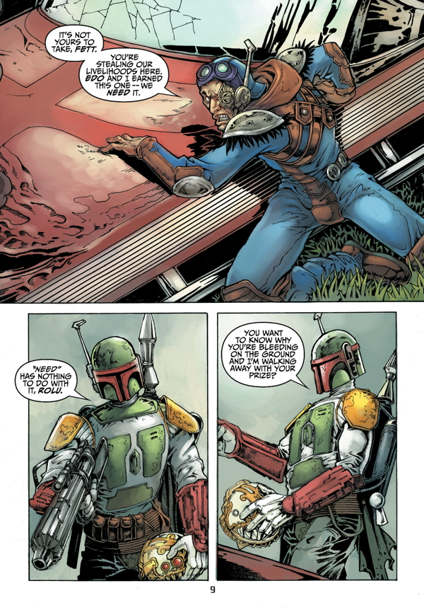 Star Wars Adventures Boba Fett And The Ship Of Fear