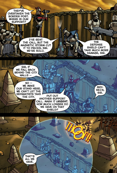 I Buy Fast >> Star Wars: Clone Wars Adventures Vol. 3 TPB :: Profile :: Dark Horse Comics