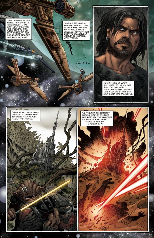 Star Wars: Dawn of the Jedi—Force War #2 :: Profile :: Dark Horse Comics