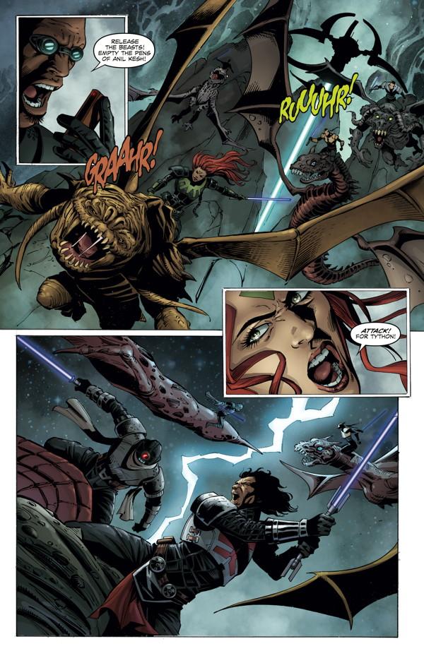 Star Wars: Dawn of the Jedi—Force War #4 :: Profile :: Dark Horse Comics