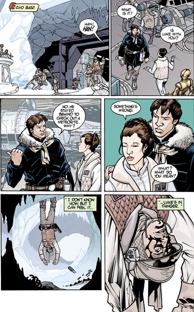 Star Wars Infinities The Empire Strikes Back Tpb