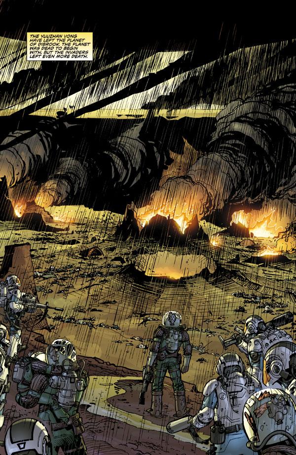 Star Wars Invasion Rescues 6 Profile Dark Horse Comics