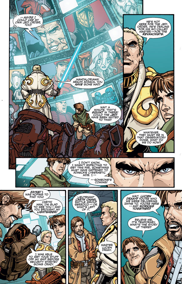 Star Wars Knights Of The Old Republic 21 Profile Dark Horse
