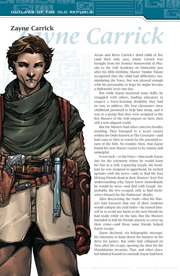 Star Wars Knights Of The Old Republic Handbook One Shot