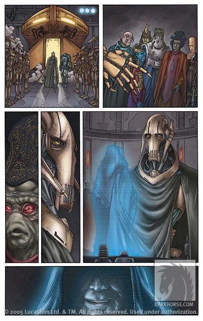 Star Wars Episode Iii Revenge Of The Sith Tpb Profile Dark Horse Comics
