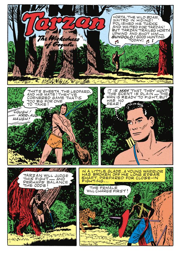 Tarzan Archives The Jesse Marsh Years Volume 6 Hc
