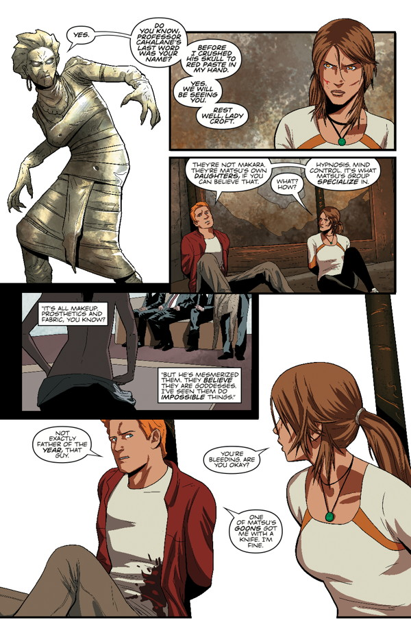 Lara Croft Adult Comics