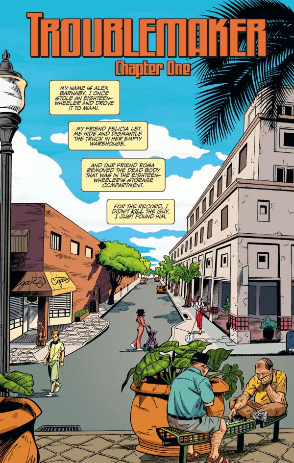 Auto Parts Miami >> Troublemaker Book 1 HC :: Profile :: Dark Horse Comics