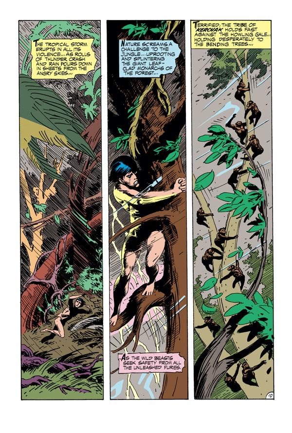 Edgar Rice Burroughs Tarzan The Complete Joe Kubert
