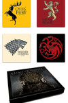 Game of Thrones Coaster Set: House Sigils Season 1