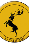 Game of Thrones Embroidered Patch: Baratheon