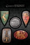 Game of Thrones Magnet Set: Shields
