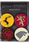 Game of Thrones Magnet Set: 4-Pack