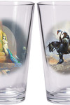 Frazetta ''Warriors & Women'' Boxed Pint Glass Set: Death Dealer and Egyptian Queen