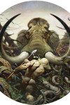 Frank Frazetta Magnet: The Mammoth