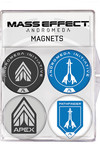 Mass Effect: Andromeda Magnet 4-Pack