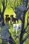 Beasts of Burden: Wise Dogs and Eldritch Men #4 (Jill Thompson Variant Cover)