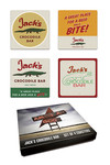 American Gods: Jack's Crocodile Bar Coaster Set