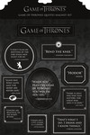 Game of Thrones Quotes Magnet Set
