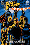 Black Hammer/Justice League: Hammer of Justice! #4 (Francesco Francavilla Variant Cover)