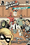 Black Hammer/Justice League: Hammer of Justice! #3 (Evan Shaner Variant Cover)